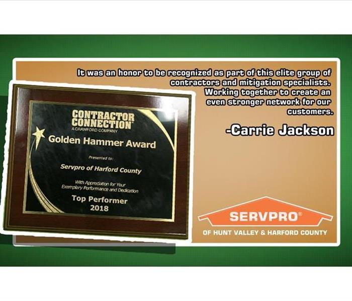 Contractor Connections Plaque
